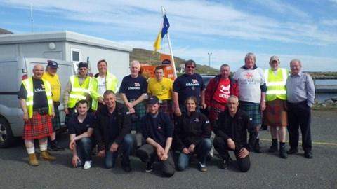 2013 team at Leverburgh