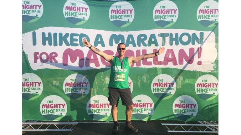 paul wyse is fundraising for Macmillan Cancer Support