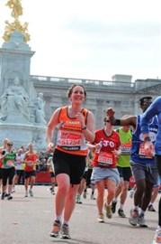 The last 200m of the London Marathon!