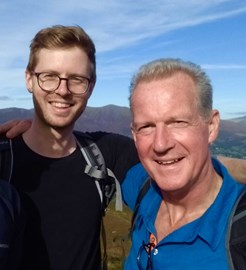 Andy M and his Dad