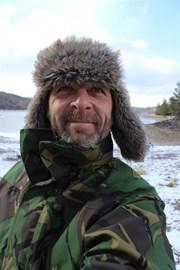 Frozen at Loch Beinn A Mheadhoin