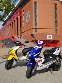 Parked up @ Anfield Stadium!