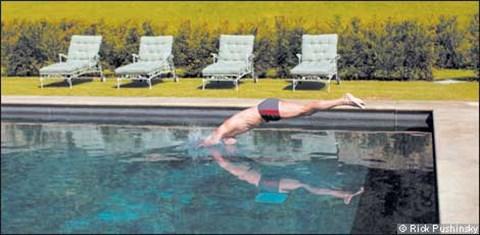 The Swimmer (Rick Morris Pushinsky)