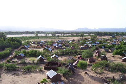 View of Kakuma Refugee Camp