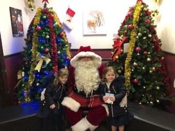 Santa IS real. We have met him!
