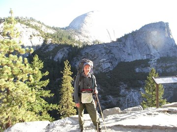 the start - Yosemite Valley
