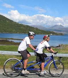 Cycling on Skye