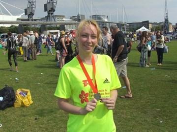 after British Gas Great London Swim 2011