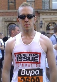 Me doing the Great Manchester Run
