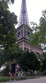 Andrew à La Tour Eiffel, Paris