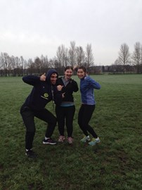 Parkrun 1: Mansfield, with Dave and Emma