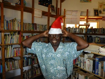 Mr Longwe Christmas at the Library