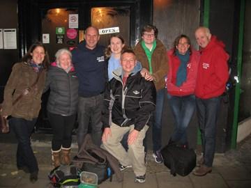 Jenny (crew), Dawn, Jonathan, Kate, Robert (supporter), Laura, Jane, Martin
