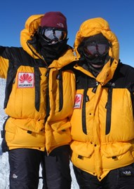 Summit of Vinson, -58C!