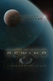 Final cover design for Rewind 1: The Empyreum War, available now