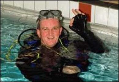 Dave in scuba gear