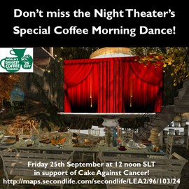 The Night Theater performs for the Coffee Morning