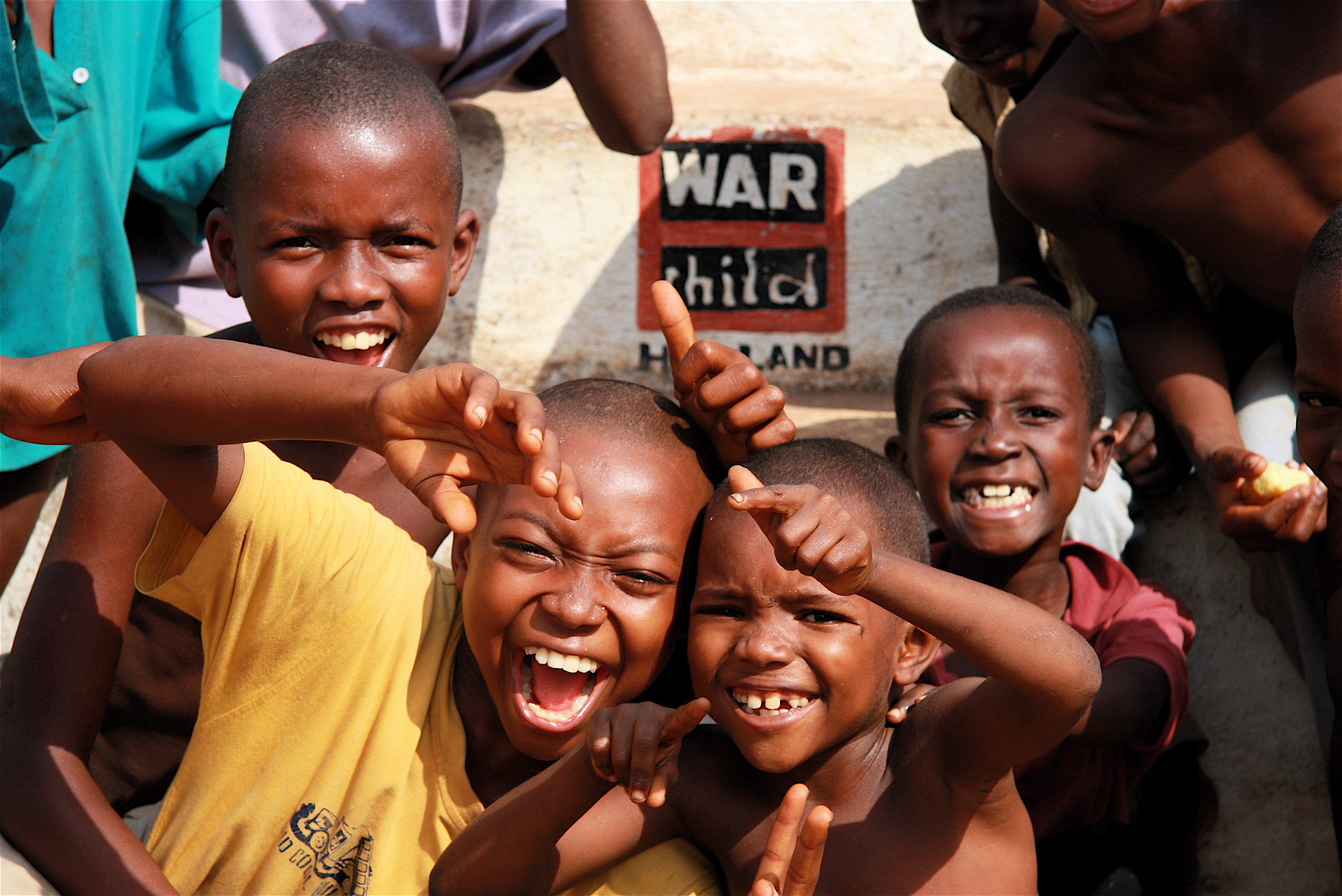 Simone Fell is fundraising for War Child