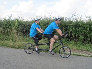 Training on the new tandem