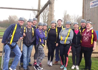 The group - before the challenge 2016