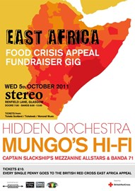 East Africa Food Crisis Fundraising Gig