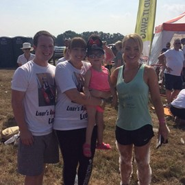 Meeting Katie Piper and my fundraising event