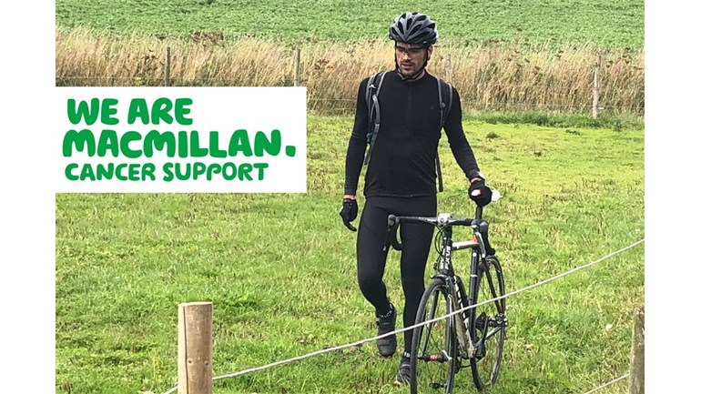 Jonny Thomson is fundraising for Macmillan Cancer Support