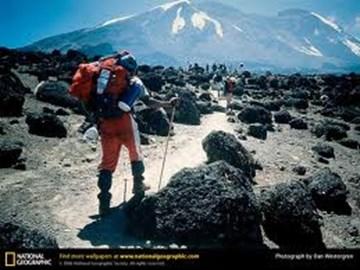 Kilimanjaro 19341 ft above sea level