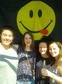 Some of Team Smiley