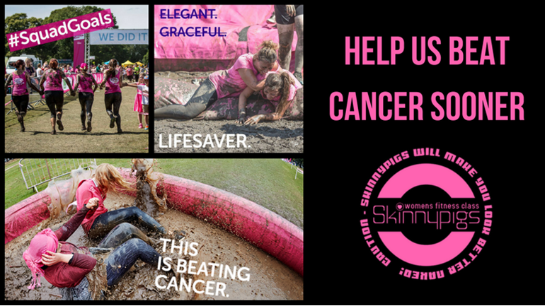 9144a264bcf4f Skinnypigs Fitness Ltd is fundraising for Cancer Research UK