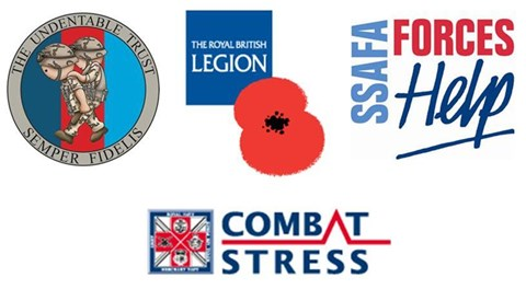 Our Four Chosen Charities