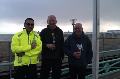 Brighton - Me, Benno & Pete