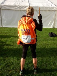 At the start - my best side! #tpchallenge