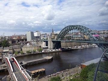 The gorgeous Tyne Bridge