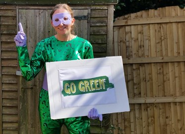 Become a green superhero!