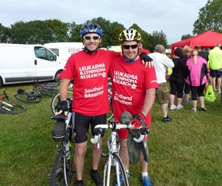 Bikeathon this year with Chris