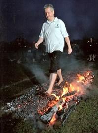 Paul Firewalking @ 533 Deg C, 20/02/2011