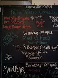 Wednesday 2nd April from 7pm At The Flying Horse - Rochdale