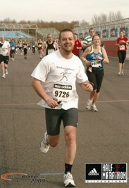 Completing the 2009 Silverstone Half