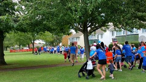 Sponsored Walk 9th August 2014