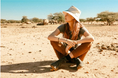 Behati Prinsloo Joins Save the Rhino Trust as Global Ambassador