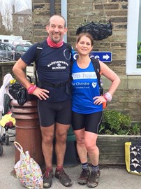 Jo & Howard finished their 32 ULTRA run