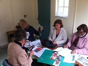 EFIG trustees at work