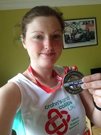My York 10k medal