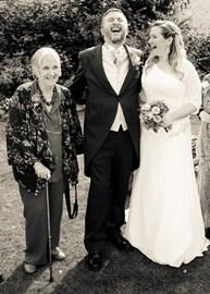 My son's wedding in September