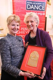 Dame Sibley and Dame Monica Mason, 2011