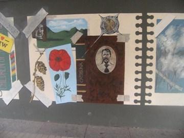 Catriona Painting in Milngavie!