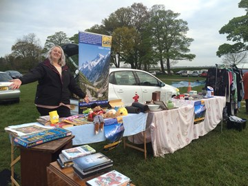 Car boot sale raised £185!