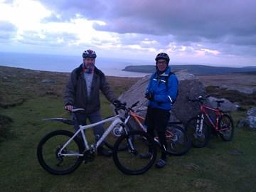 On the trail at Mynydd Carningli 13.12.2014