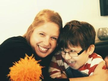 Leo and Helen, July 2014